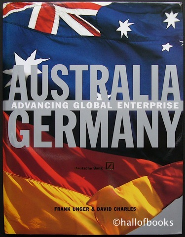 Image for Australia Germany: Advancing Global Enterprise