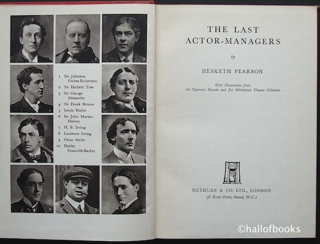 Image for The Last Actor-Managers