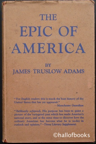 Image for The Epic Of America