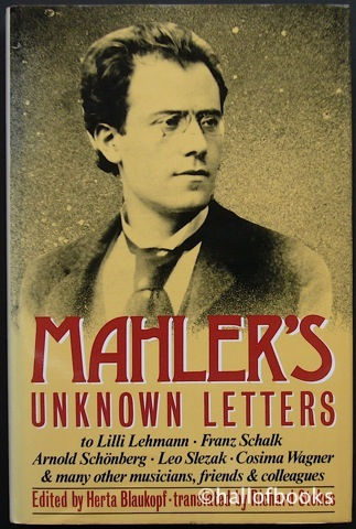 Image for Mahler's Unknown Letters