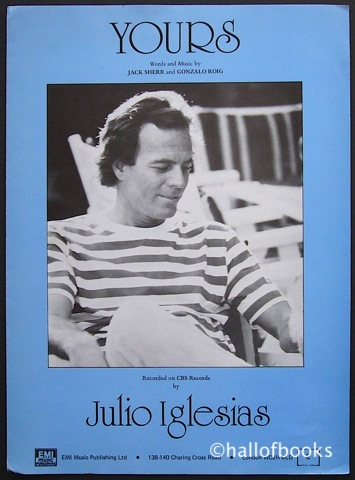 Image for Yours (performed by Julio Iglesias)