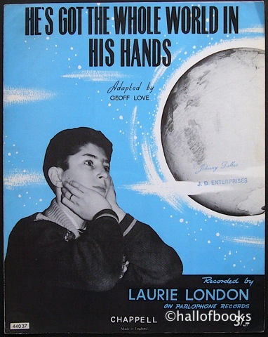 Image for He's Got The Whole World In His Hands (performed by Laurie London)