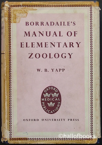 Image for Borradaile's Manual Of Elementary Zoology