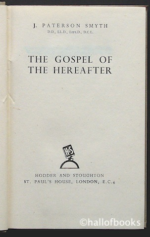 Image for The Gospel Of The Hereafter
