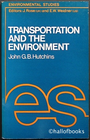 Image for Transportation And The Environment