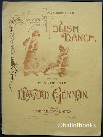 Image for Polish Dance (To Miss Dora Bright) For The Pianoforte