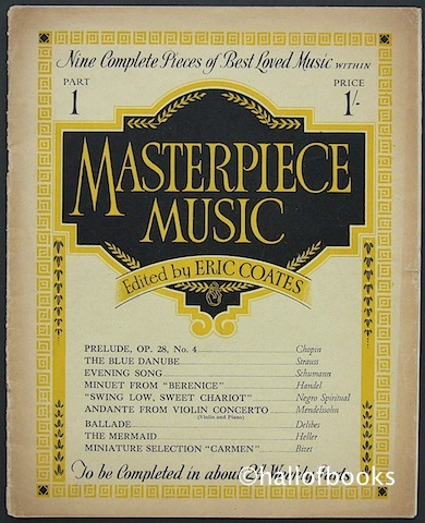 Image for Masterpiece Music: Nine Complete Pieces Of Best Loved Music. Part 1