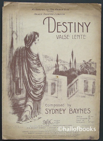 "Image for ""Destiny: Valse Lente. As Featured by The Palace Girls at the Palace Theatre, London"""