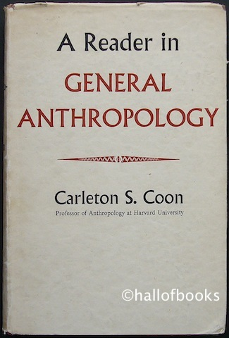 Image for A Reader in General Anthropology