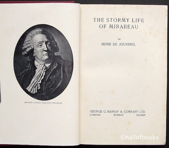 Image for The Stormy Life Of Mirabeau