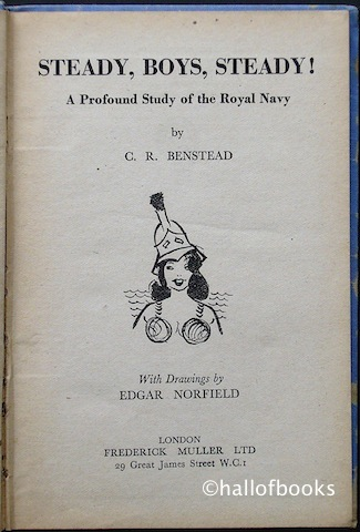 "Image for ""Steady, Boys, Steady! A Profound Study of the Royal Navy"""