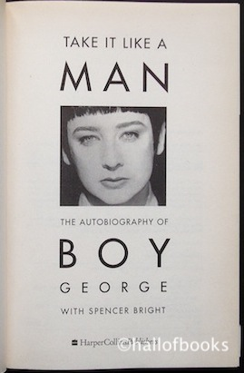 Image for Take It Like A Man: The Autobiography of Boy George