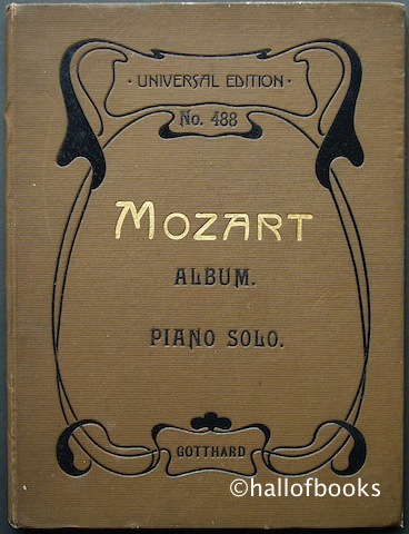 Image for Mozart-Album: Sammlung Beliebter Stucke (Collection of Favourite Pieces) for Piano Solo