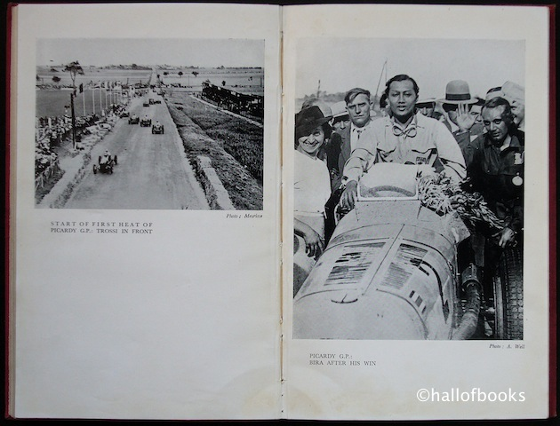 "Image for ""Road Racing 1936: Being an account of one season of B. Bira, the Racing Motorist"""
