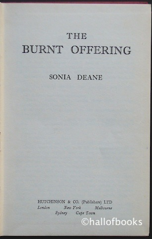 Image for The Burnt Offering