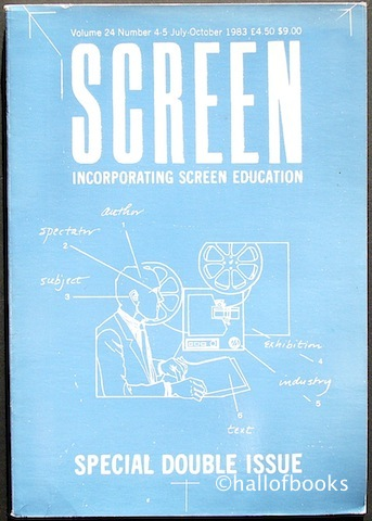 "Image for ""Screen Incorporating Screen Education: Special Double Issue. Volume 24, Number 4-5, July-October 1983"""