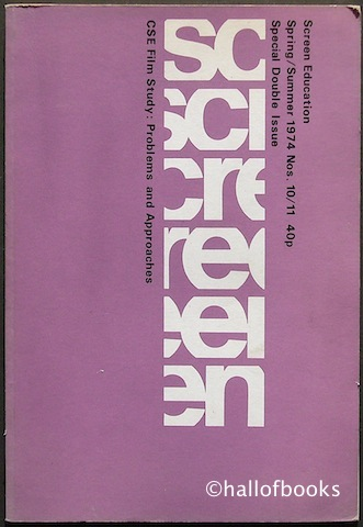Image for Screen Education Spring/Summer 1974 Nos. 10/11