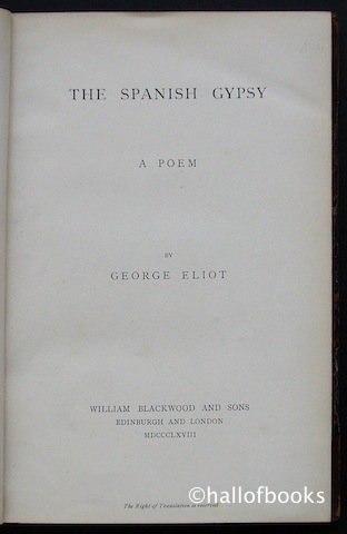 Image for The Spanish Gypsy: A Poem