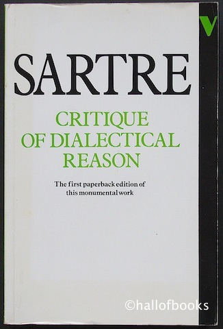 Image for Critique of Dialectical Reason