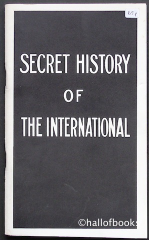 Image for Secret History of The International Working Men's Association