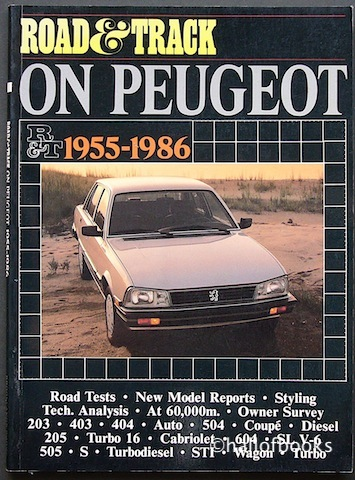 Image for Road & Track On Peugeot: 1955-1986