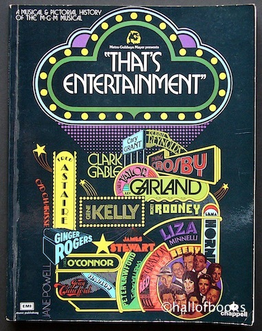 Image for That's Entertainment: A Musical and Pictorial History Of The M. G. M. Musical