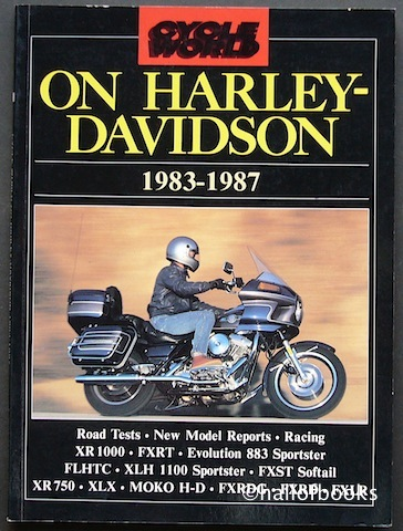 Image for Cycle World On Harley-Davidson 1983-1987