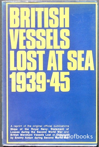 Image for British Vessels Lost At Sea 1939-45