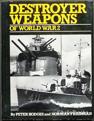 Image for Destroyer Weapons Of World War 2