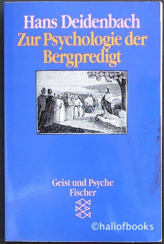 Image for Zur Psychologie der Bergpredigt