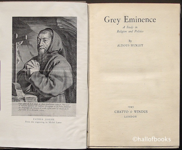 Image for Grey Eminence: A Study In Religion and Politics
