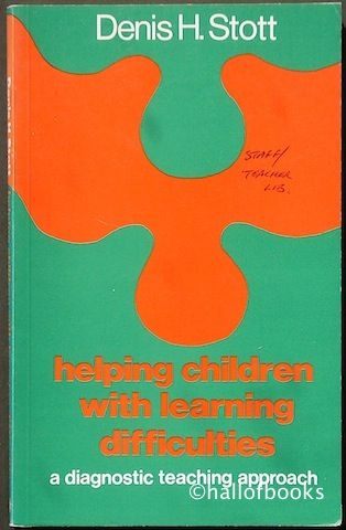 Image for Helping Children With Learning Difficulties: A Diagnostic Teaching Approach