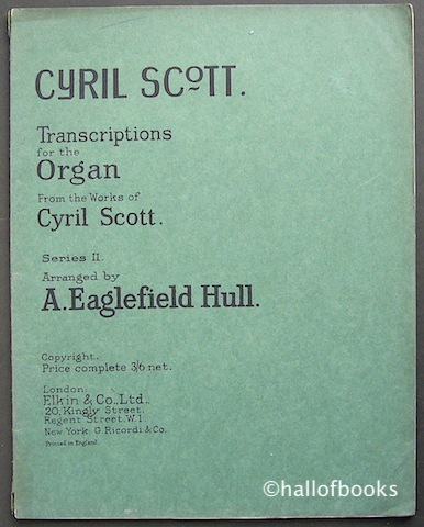 Image for Transcriptions for the Organ from the works of Cyril Scott. Series II