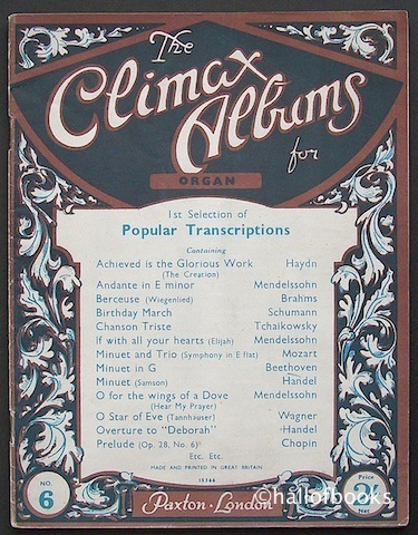 Image for The Climax Albums for Organ No. 6