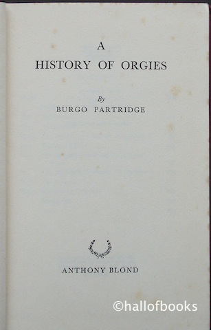 Image for A History of Orgies