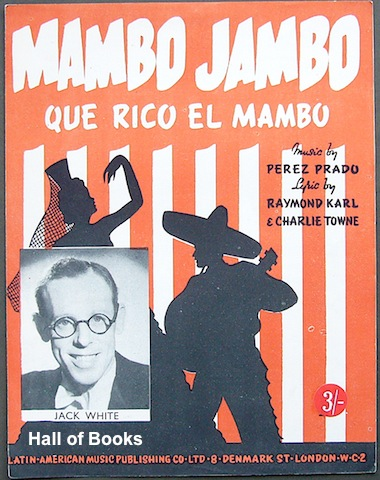 "Image for ""Mambo Jambo: Que Rico El Mambo, recorded by Jack White"""