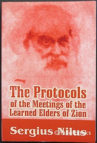 Image for The Protocols of the Meetings of the Learned Elders of Zion
