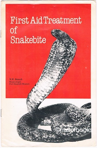Image for First Aid Treatment of Snakebite