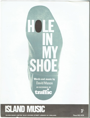 Image for Hole In MY Shoe, recorded by Traffic