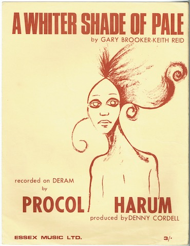 Image for A Whiter Shade Of Pale, recorded by Procul Harum