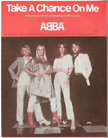 Image for Take A Chance On Me, recorded by ABBA