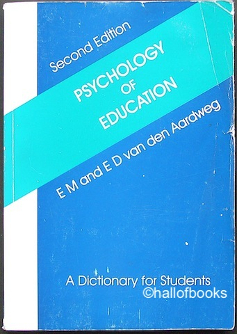 Image for Psychology of Education: A Dictionary For Students