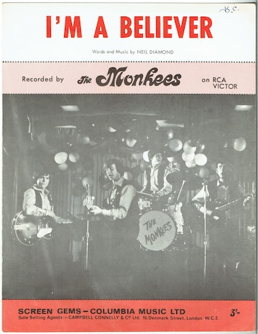 Image for I'm A Believer, recorded by The Monkees