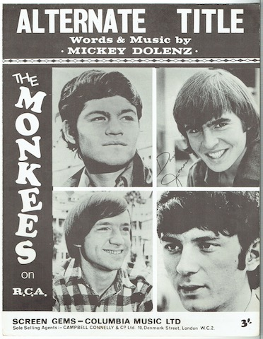 Image for Alternate Title, recorded by The Monkees