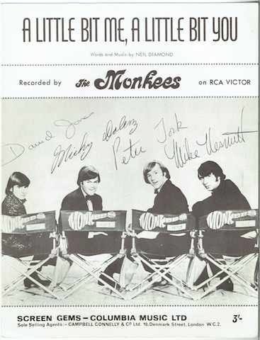 Image for A Little Bit Me, A Little Bit You, recorded by The Monkees