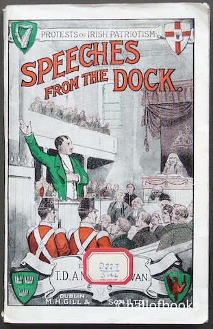 "Image for ""Speeches From The Dock: Or, Protests of Irish Patriotism"""