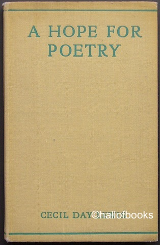 Image for A Hope For Poetry