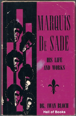 Image for Marquis De Sade: His Life and Works