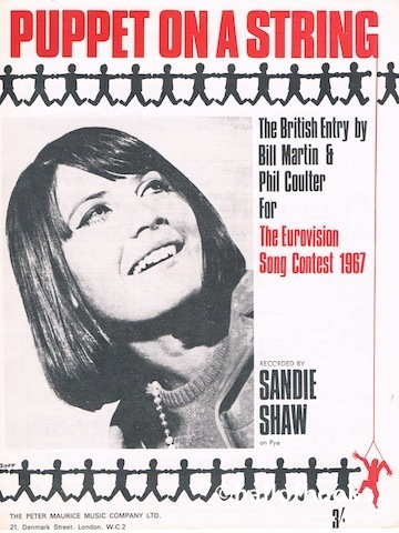Image for Puppet On A  String. Recorded by Sandie Shaw