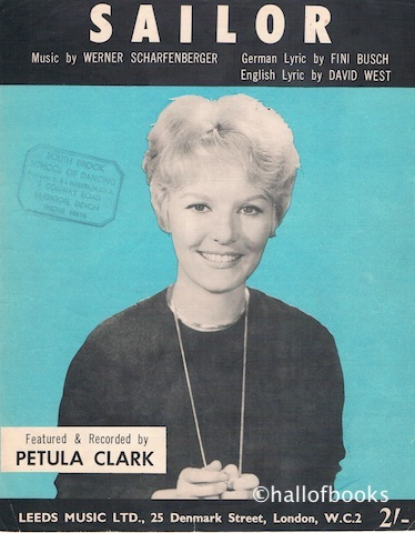 Image for Sailor. Recorded by Petula Clark